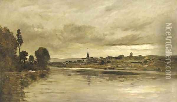 Paysages Oil Painting - Charles-Francois Daubigny