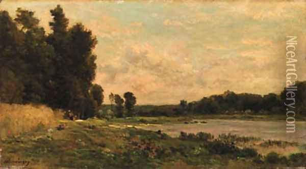 Untitled 3 Oil Painting - Charles-Francois Daubigny
