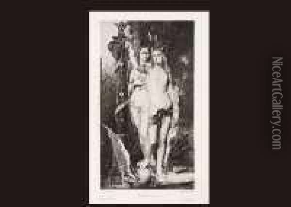 Jason And Medea Oil Painting - Gustave Moreau