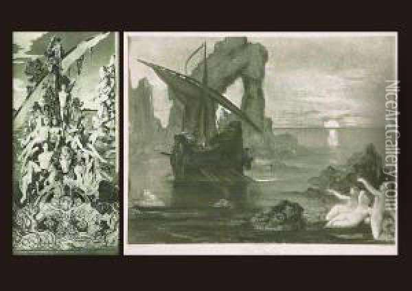 Return Of Algonot Oil Painting - Gustave Moreau