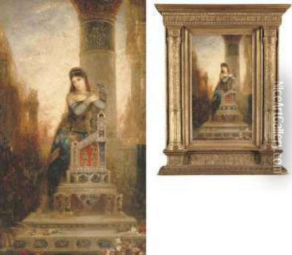 Desdemone Oil Painting - Gustave Moreau