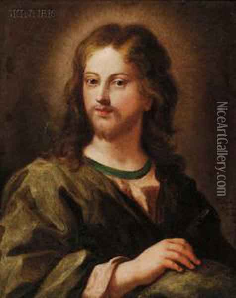 Christ Oil Painting - Paulus Moreelse