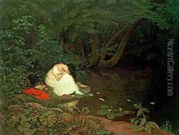Disappointed love Oil Painting - Francis Danby
