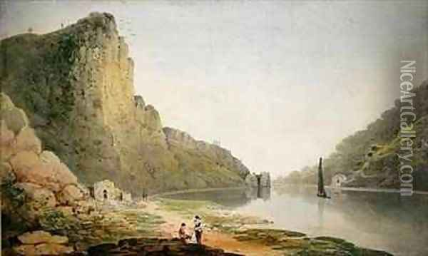 The Avon Gorge 2 Oil Painting - Francis Danby