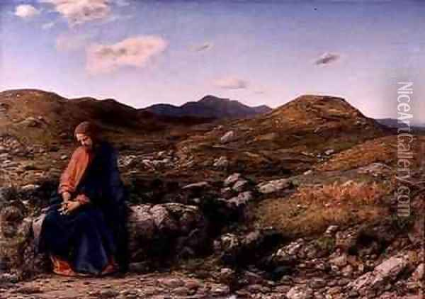 Man of Sorrows Oil Painting - William Dyce