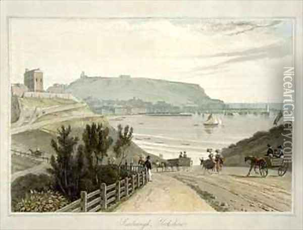 Scarborough Yorkshire Oil Painting - William Daniell RA