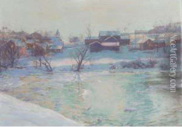 Normansvale Oil Painting - Walter Launt Palmer