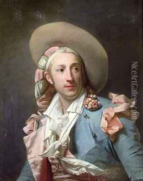 The Actor Thenard in the Role of Figaro Oil Painting - Henri Pierre Danloux