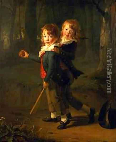 The Masters Foster Oil Painting - Henri Pierre Danloux