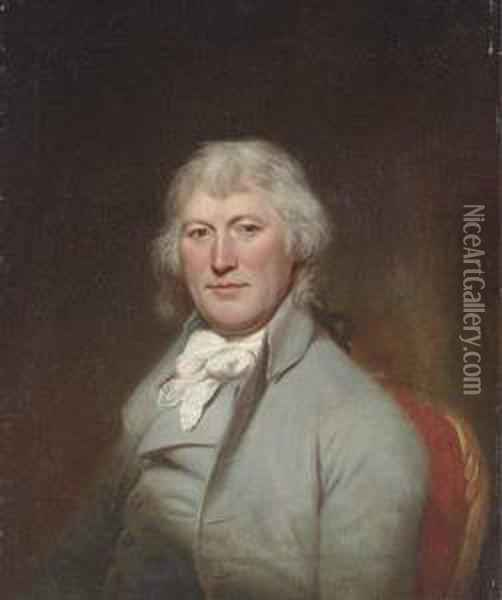 Portrait Of James W. Depeyster Oil Painting - Charles Willson Peale