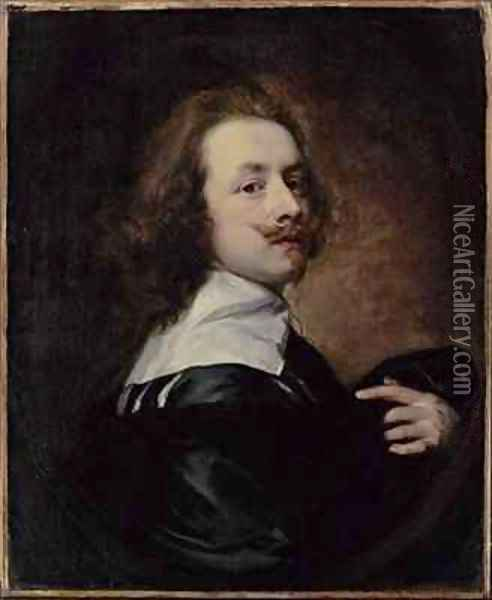 Self Portrait 3 Oil Painting - Sir Anthony Van Dyck