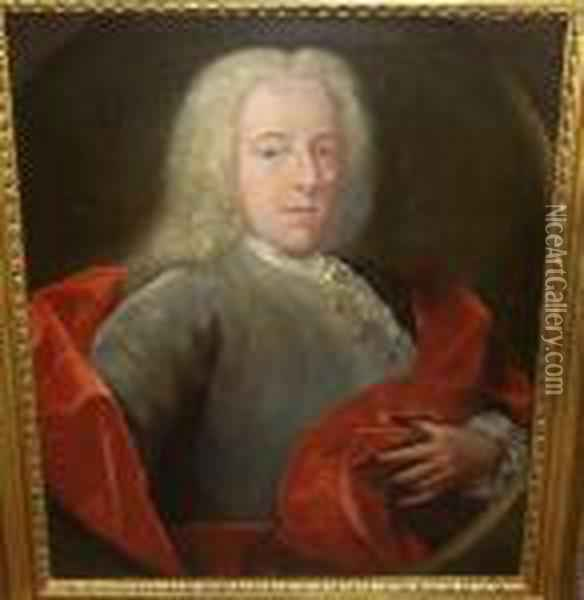 Portrait Of A Gentleman With A 