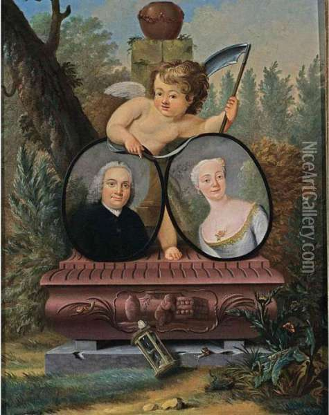 A 'memento Mori' Portrait: A 