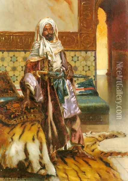 The Arab Prince Oil Painting - Rudolph Ernst
