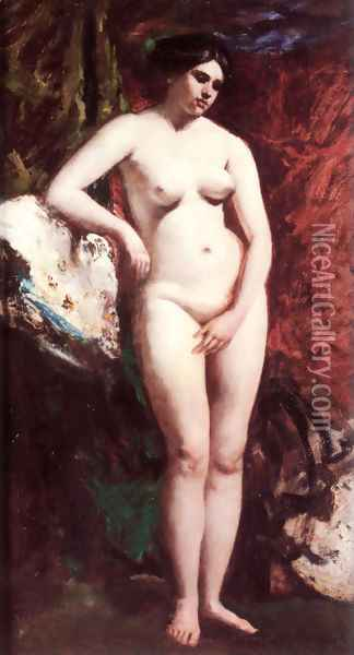 Standing Nude Oil Painting - William Etty