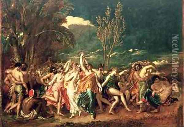 The World Before the Flood Oil Painting - William Etty