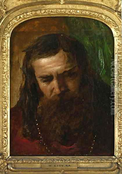 Portrait of a Man Oil Painting - William Etty