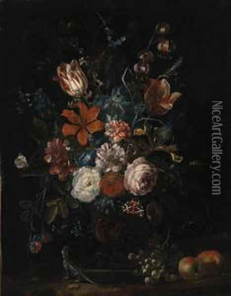 Roses, Tulips, Lillies, 