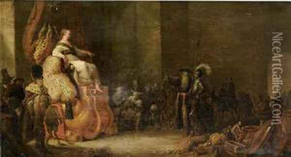 An Allegory Of Wisdom Oil Painting - Cornelis Saftleven