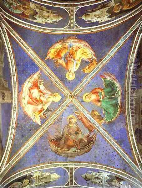 The Four Evangelists Oil Painting - Angelico Fra