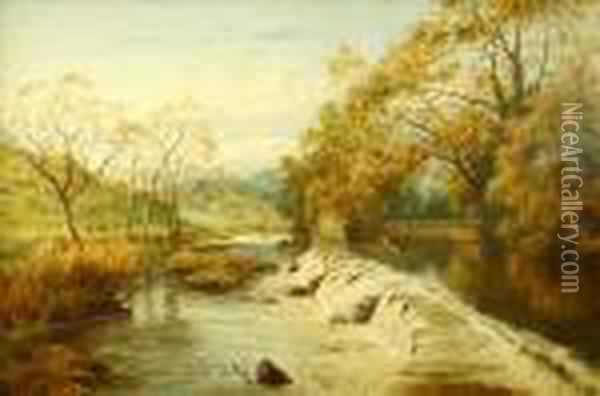 Weirat Stapleton Glen, Bristol Oil Painting - John Brandon Smith
