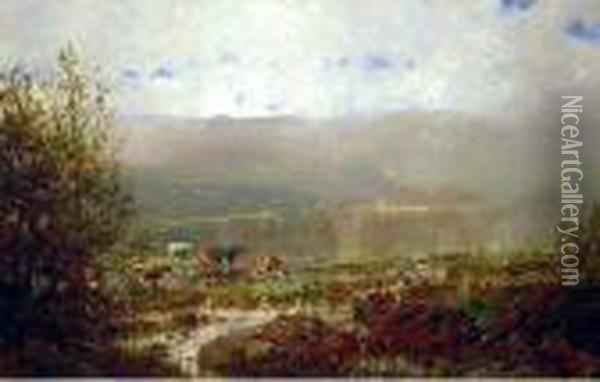 Ossipee Valley, Maine Oil Painting - William Louis Sonntag