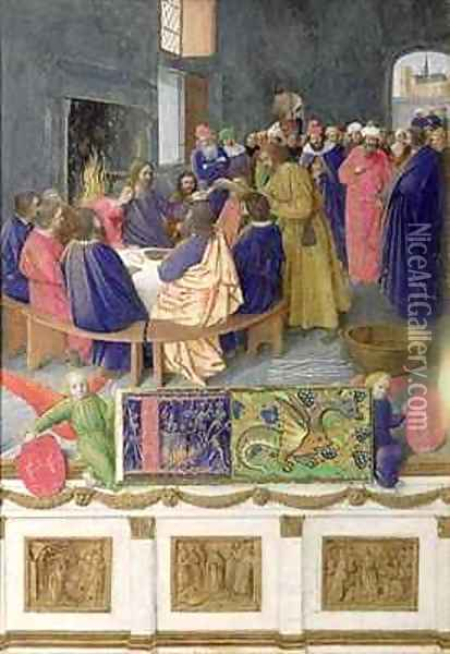 The Last Supper Oil Painting - Jean Fouquet