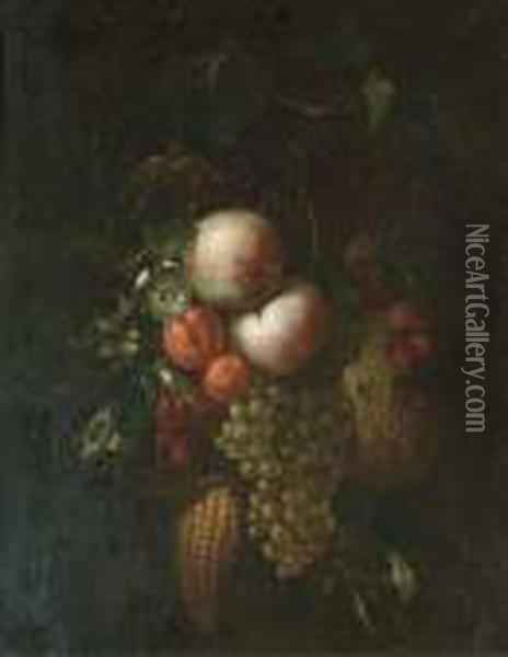 Peaches, Grapes On The Vine, 