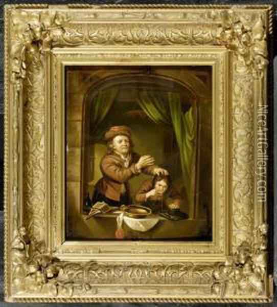The Dentist Oil Painting - David The Younger Teniers