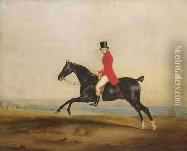 James Smith Barry out hunting Oil Painting - John Snr Ferneley
