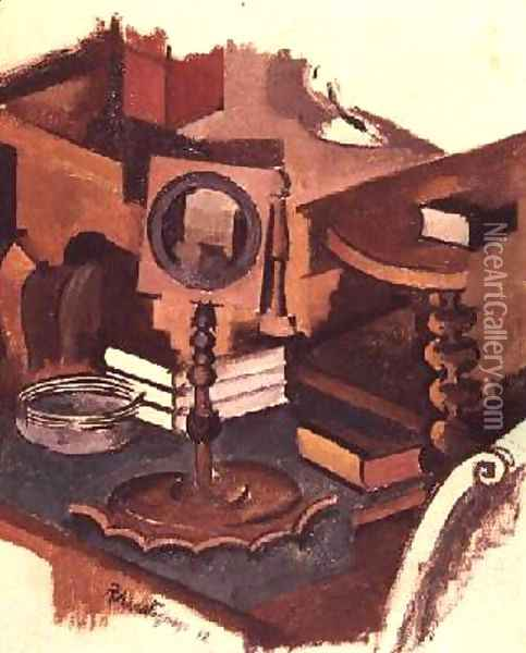 Corner of a Table Study for The Conjugale Life Oil Painting - Roger de La Fresnaye