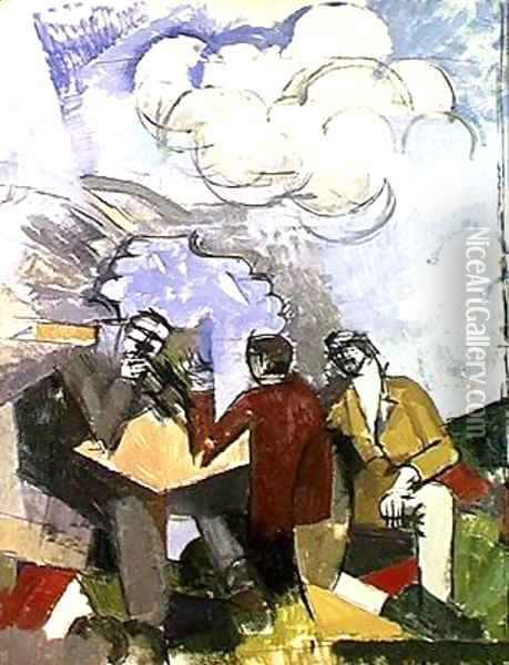 The Conquest of the Air Oil Painting - Roger de La Fresnaye
