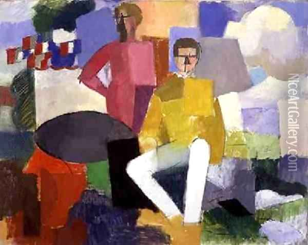 The Fourteenth of July Oil Painting - Roger de La Fresnaye