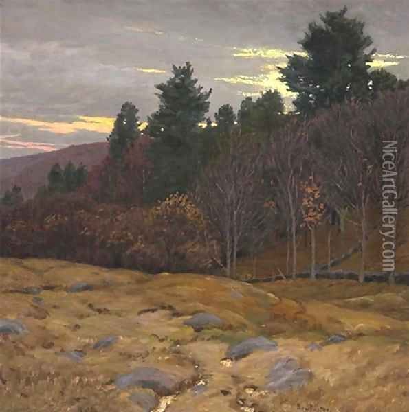 Waning day Oil Painting - Ben Foster