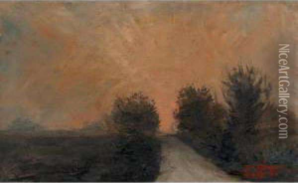 Road Near Leith Oil Painting - Tom Thomson