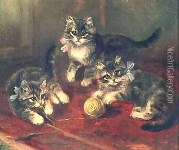 A Good Game Oil Painting - Frederick French