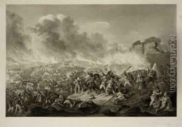 The Battle Of Alexandria, March 21st 1801 Oil Painting - Joseph Mallord William Turner