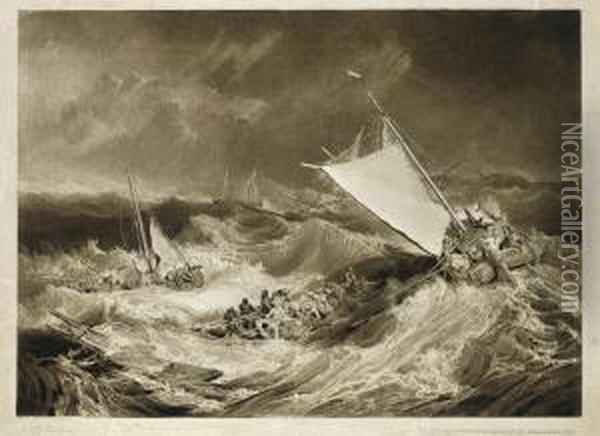 The Ship Wreck Oil Painting - Joseph Mallord William Turner