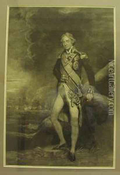 Admiral Lord Nelson Oil Painting - Joseph Mallord William Turner