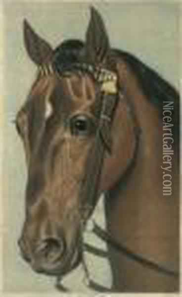 My Horse Oil Painting - Joseph Mallord William Turner