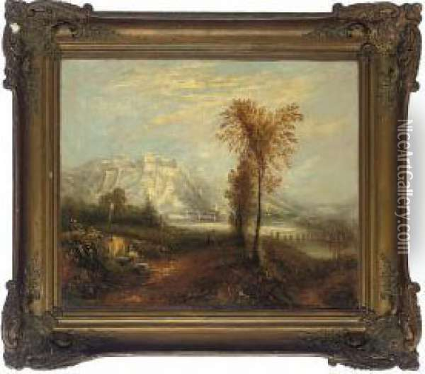 Ehrenbreitstein Oil Painting - Joseph Mallord William Turner