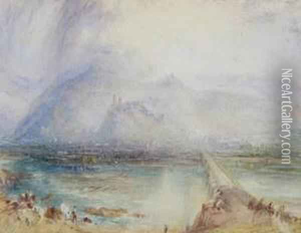 Continental Landscapes Oil Painting - Joseph Mallord William Turner
