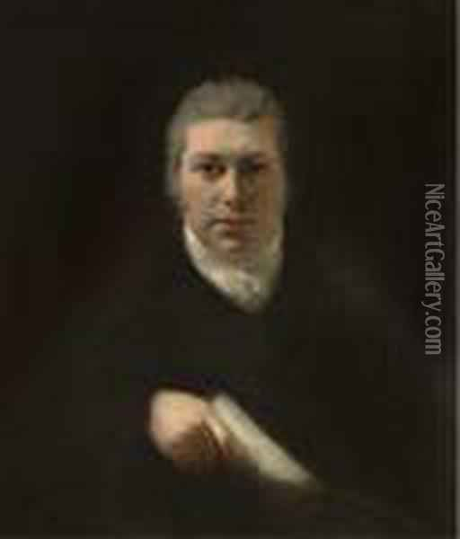 Portrait Of A Gentleman Oil Painting - Joseph Mallord William Turner