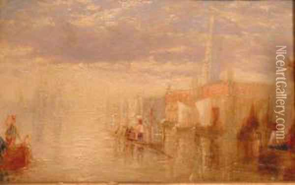 View Of Venice Oil Painting - Joseph Mallord William Turner