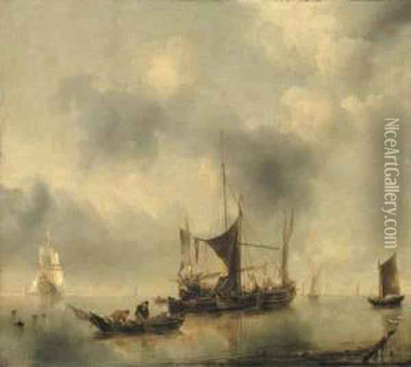 A Kaag And A Smak In A Calm, 
