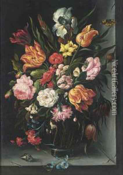 Roses, Tulips, Carnations, 