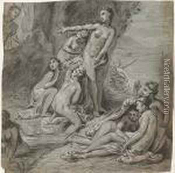 Diana And Actaeon Oil Painting - Jacob van Loo