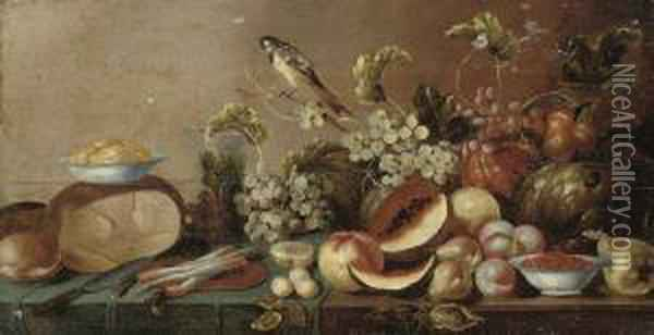 Melons, Peaches, Pears, Grapes 