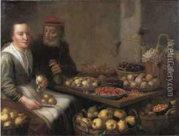 A Kitchen Interior With A 
