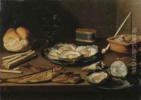 Pewter Plates With Opened 